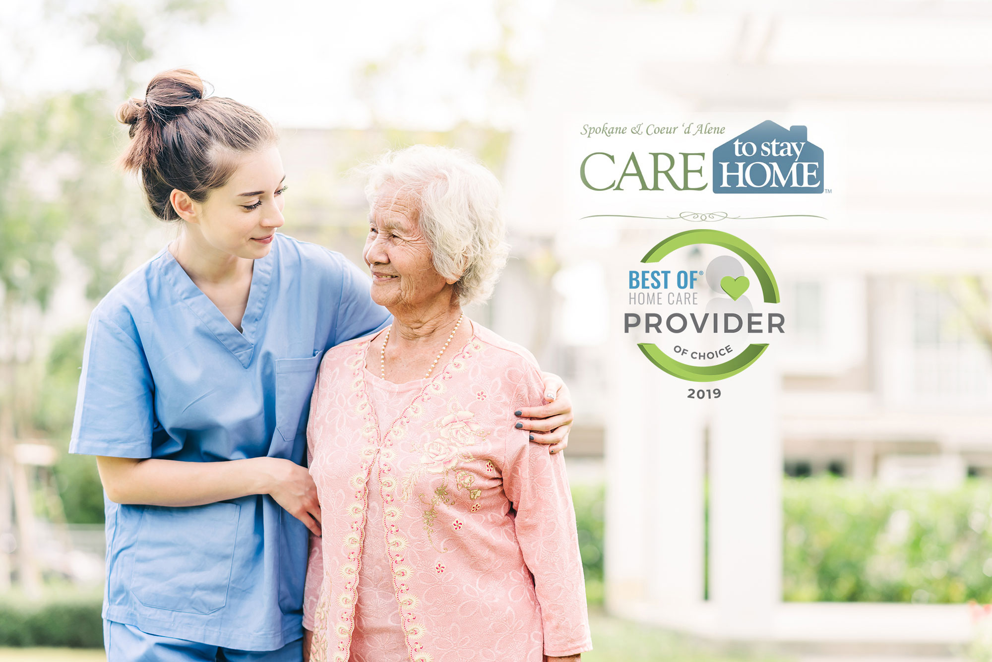 Care to Stay Home of Spokane Receives 2019 Best of Home Care® – Provider of Choice Award