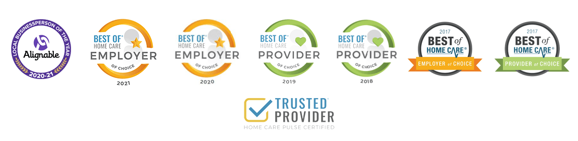Best of Home Care Provider and Employer and Pulse Awards Spokane Care to Stay Home